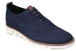 Cole Haan Zerogrand Textured Leather Oxford Shoes