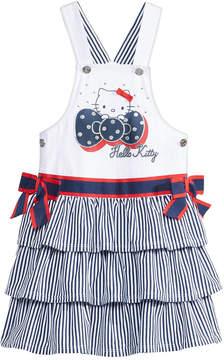 Hello Kitty Graphic-Print Skirtall, Little Girls