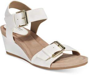 Giani Bernini Bryana Memory Foam Wedge Sandals, Created for Macy's Women's Shoes