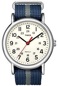 Timex Men's Blue and Gray Weekender Watch