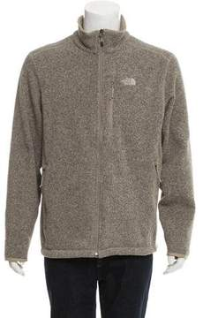 The North Face Woven Zip-Up Sweater