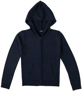 Chaps Girls 4-16 School Uniform Hooded Sweater