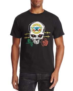 Bravado Guns N' Roses Skull Crewneck Short Sleeve Graphic Tee