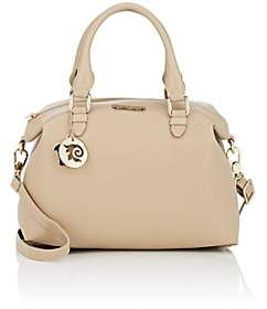 Versace WOMEN'S LEATHER DUFFEL BAG-SAND