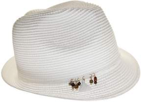 Nine West Womens Fedora Hat