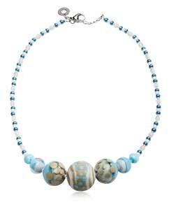 Antica Murrina Veneziana Women's Blue Metal Necklace.