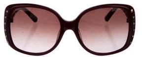 Valentino Rockstud Gradient Sunglasses