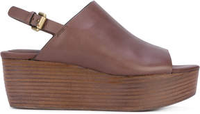 See by Chloe stacked wedge sandals