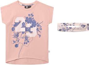 Hummel Pink Floral Print Malle T-Shirt