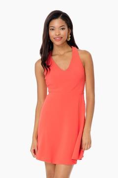 Cooper & Ella Orange Rafaela Dress
