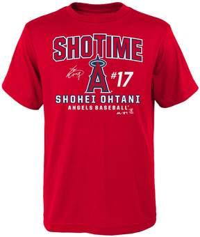 Majestic Boys 8-20 Los Angeles Angels of Anaheim Shohei Ohtani Takedown Tee