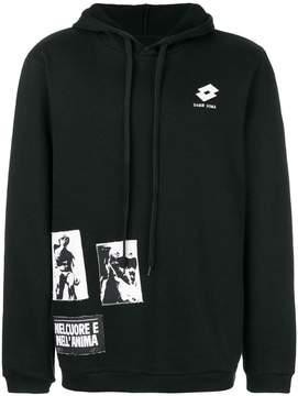 Damir Doma x Lotto logo patch hoodie