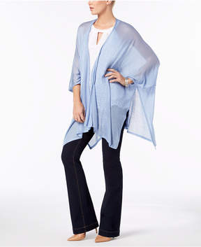 INC International Concepts I.n.c. Knit Poncho, Created for Macy's