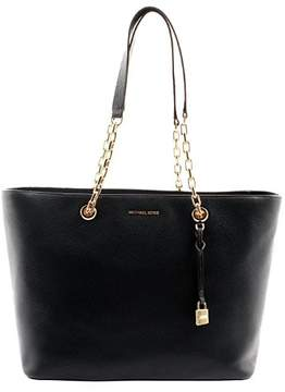 Michael Kors Mercer Medium Chain-link Leather Tote - Admiral - 30H6GM9T9L-414