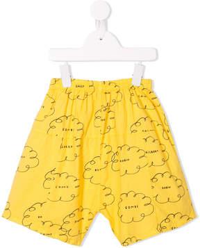 Bobo Choses cloud print trousers