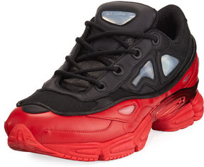 Adidas By Raf Simons Men's Ozweego III Trainer Sneaker, Black/Red
