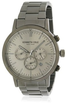 Kenneth Cole Stainless Steel Chronograph Mens Watch KCC0133003