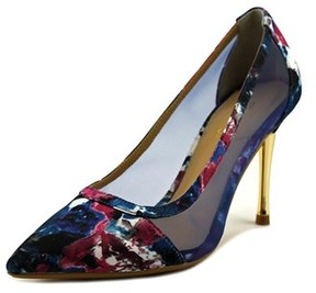 Thalia Sodi Natalia Women W Pointed Toe Canvas Heels.