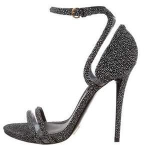 Louis Vuitton PVC Textured Sandals