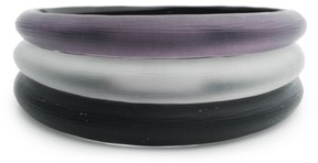 Alexis Bittar Women's Lucite Set Of 3 Tapered Bangles