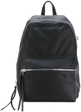 Rick Owens zipped backpack