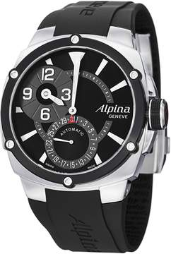 Alpina Adventure Avalanche Black Dial Rubber Strap Automatic Men's Watch