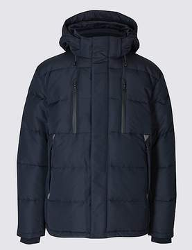 Marks and Spencer Hooded Jacket with StormwearTM