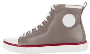 Hermes Jimmy Leather Sneakers w/ Tags