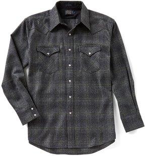 Pendleton Canyon Plaid Long-Sleeve Shirt
