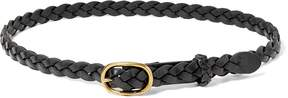 Ralph Lauren Skinny Braid Belt