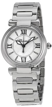 Chopard Imperiale Silver Dial Stainless Steel Ladies Watch