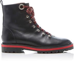 Aquazzura Leather Hiker Boots