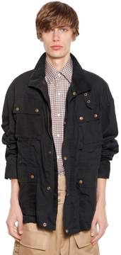 Facetasm Cotton Field Jacket W/ Knit Band