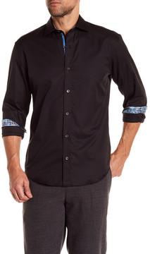 Bugatchi Solid Shaped Fit Shirt