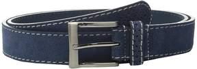Florsheim 32mm Suede Leather Belt