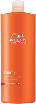 Wella Enrich Volumizing Shampoo - Fine to Normal - 33.8 oz.