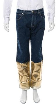 Loewe Fishmean Cropped Jeans