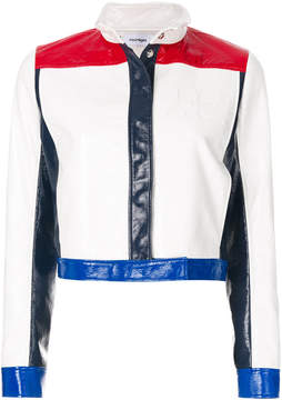 Courreges contrast stripe jacket