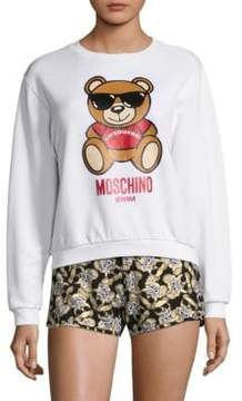 Moschino Cotton Teddy Sweatshirt