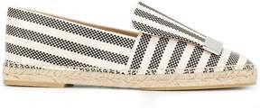Sergio Rossi striped espadrilles