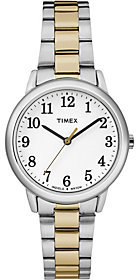Timex Women's Easy Reader Two-Tone Bracelet Watch