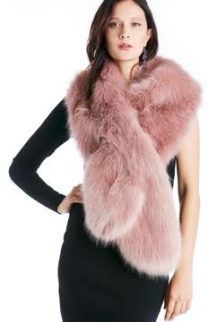 Sole Society Oversize Faux Fur Wrap