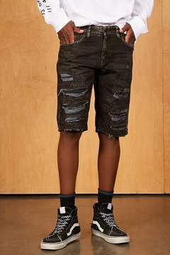 21men 21 MEN Jordan Craig Distressed Shorts