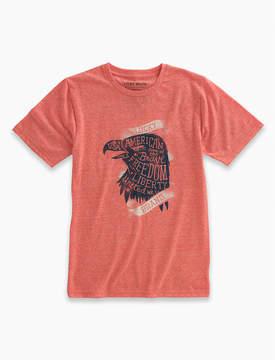 Lucky Brand Short Sleeve Usa Eagle Tee