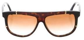 Balenciaga Shield Tinted Sunglasses