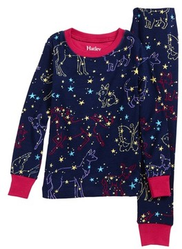 Hatley Toddler Girl's Organic Cotton Fitted Two-Piece Pajamas