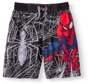 Marvel Spider-Man Boys' Swim Trunks