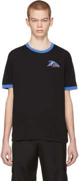 Off-White Black Eagle Ringer T-Shirt