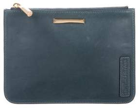 Elizabeth and James Smooth Leather Pouch