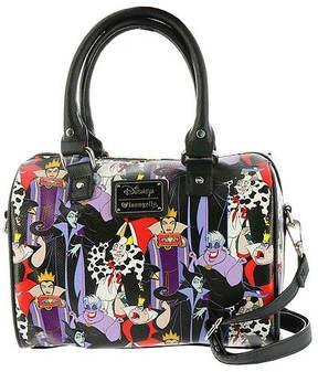 Loungefly Disney Villians Print Duffle Bag